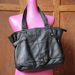 The Sak black leather purse